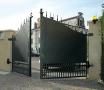 Для распашных ворот